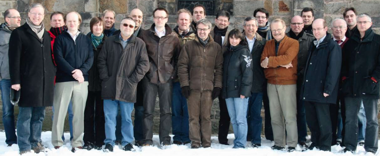 Group photo of the Computer Science Department
